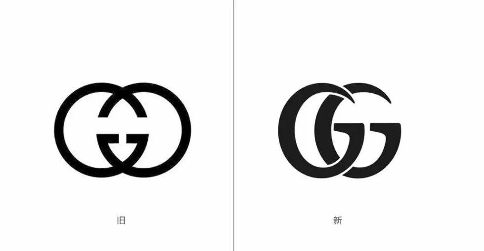 國際奢侈品gucci古馳低調換新logo了,這個變化不圖片