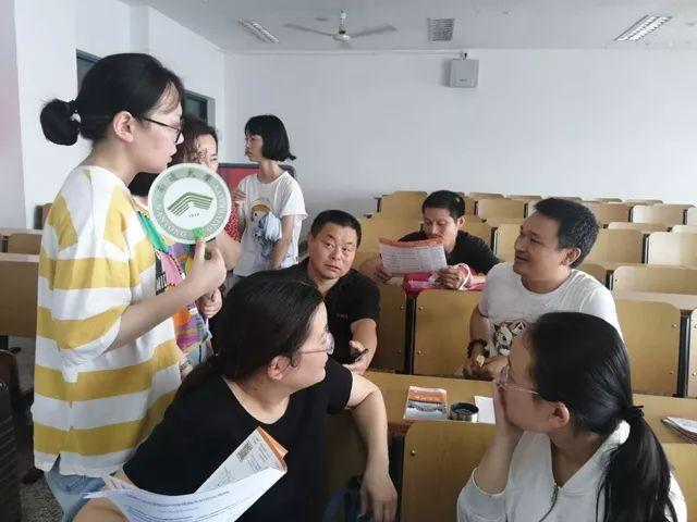 江苏二师招宣小分队分赴省内外各地进行招生宣松高中雷收费图片