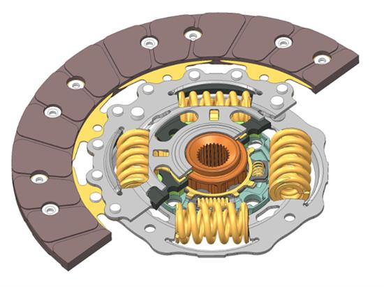 传动系减振:舍弗勒开发出新型离合器从动盘