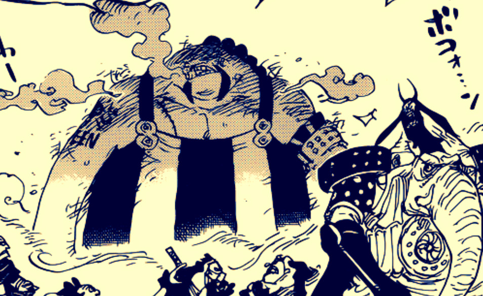 海賊王947話: 奎因展露實力,除了鐵頭功外,還會用刀和用毒!