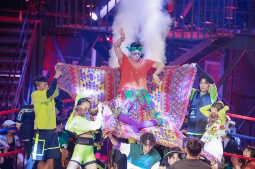 《这就是街舞》第二季四大站队结盟出征致敬MJ编舞燃爆全场