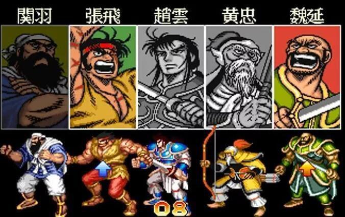 日本超级色的邪恶漫画_熟悉的选角色画面,浓浓的日本漫画的风格,其中魏延的形象我强烈怀疑是