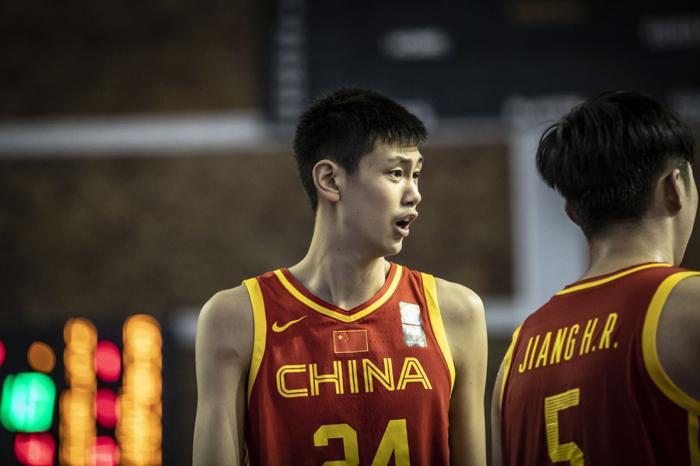 成为未来中国男篮的新希望之星