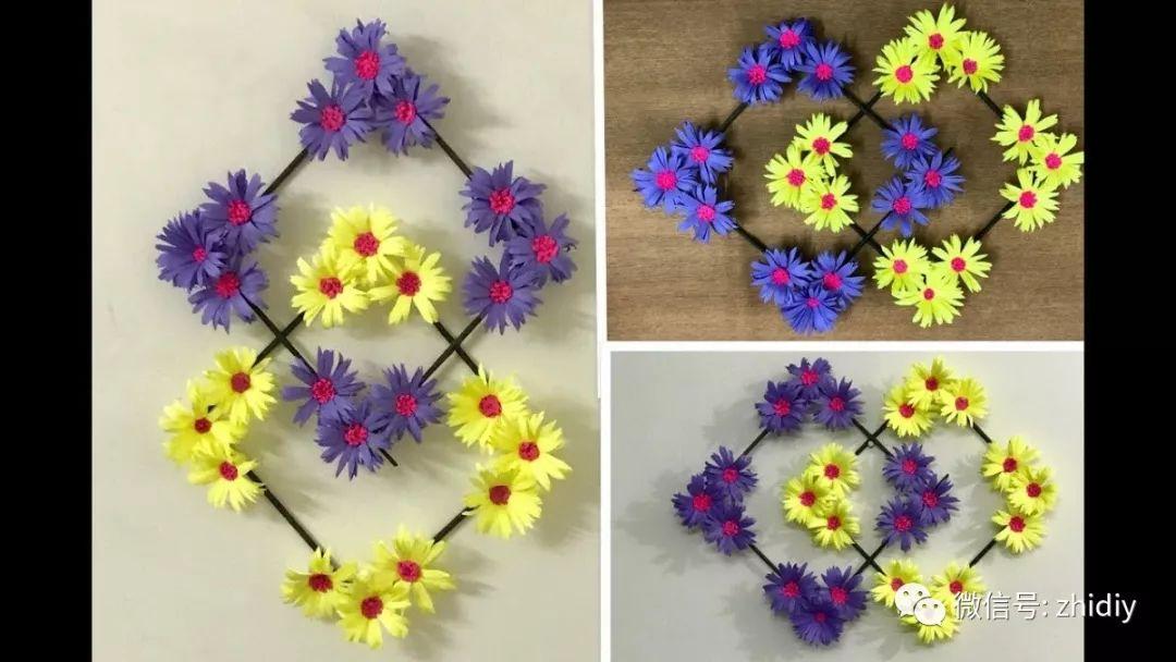 纸艺鲜花摆饰 | 居家装饰来点简单的 diy , 快速搞定图片