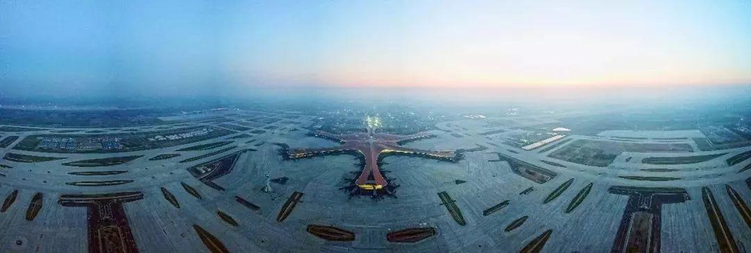 满满科幻感!全世-超级单体-界最大单体航站楼的大兴机场竣工了