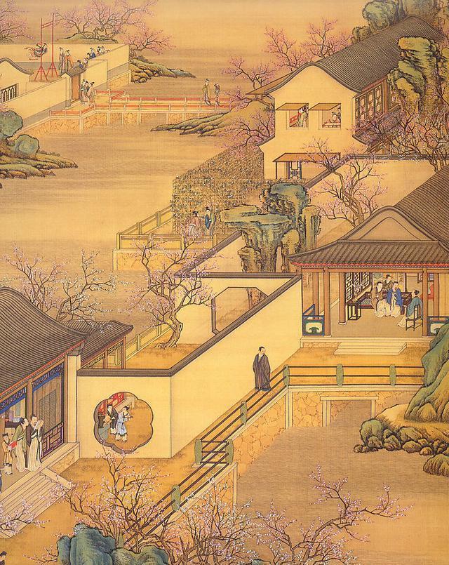 古代人买房与我们一样,房价地段都得考虑