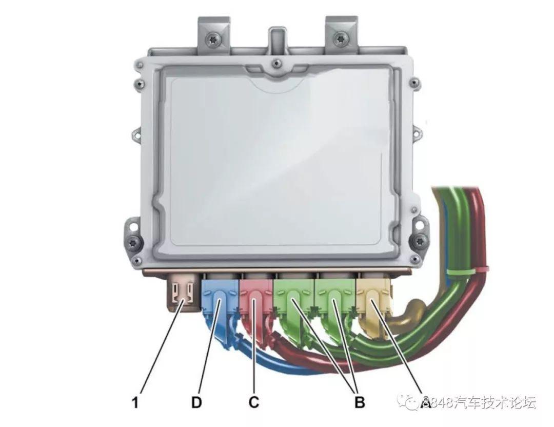 柴油机供给系统_奔驰OM654发动机(四缸柴油机)技术图解_传感器