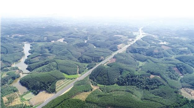 贵隆高速预计本月建成通车 宾阳武鸣隆安之间将添便捷通道