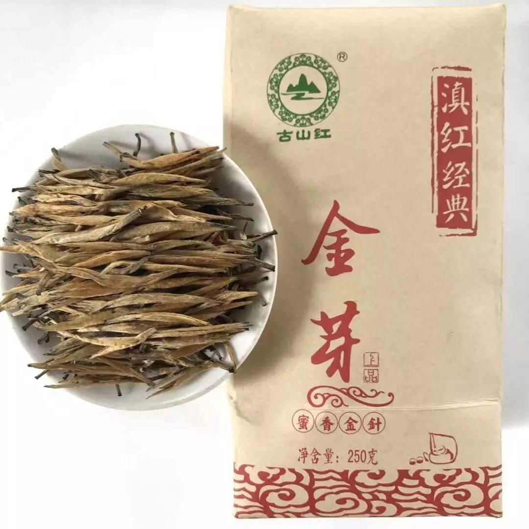 凤庆古山红茶叶金芽茶袋装250g/包仅售200元