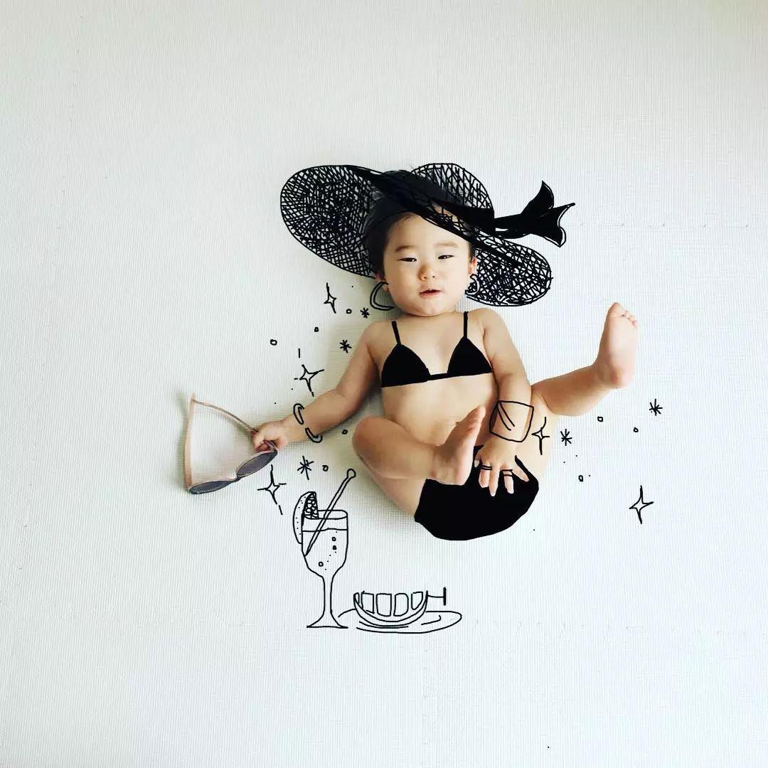 """神经爹""""把儿子画进宫崎骏世界,暖哭11万网友:儿子你随便造,画不好算老爸输"""