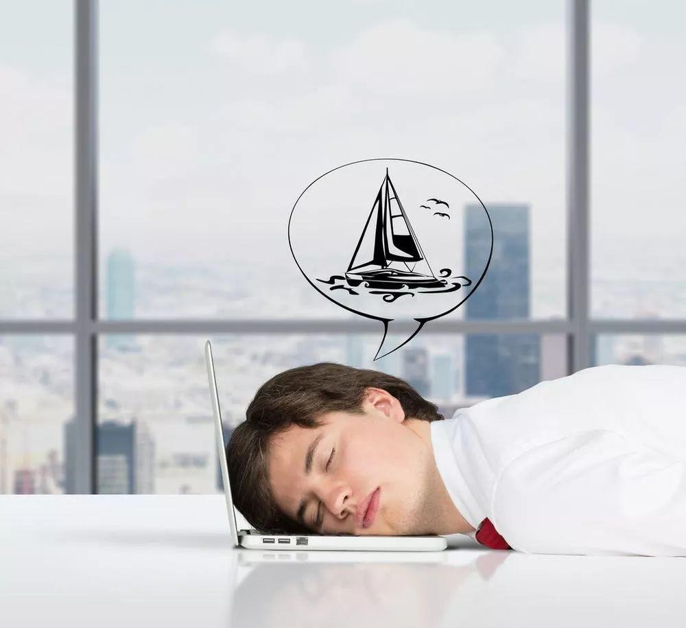 """老板,工作疲劳效率低下可能是因为灯太亮!"""""""