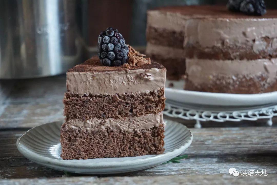 店里300元一个的巧克力巴菲冰淇淋蛋糕,自己在家做原来这么便宜!!
