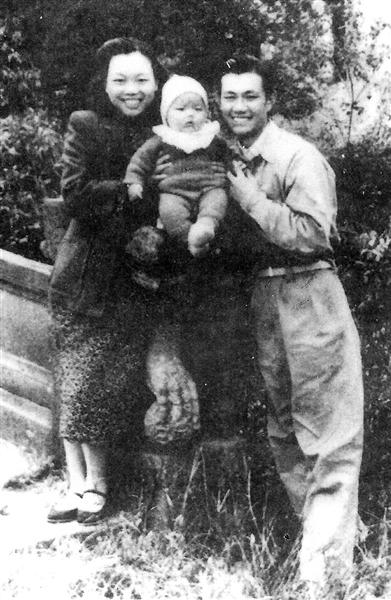 72年前的寸照合影:革命烈士江文焕唯一的全家福