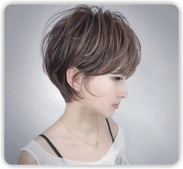原创脸圆身材微胖的女生适合什么发型?八款精致短发美腻了,谁剪都美