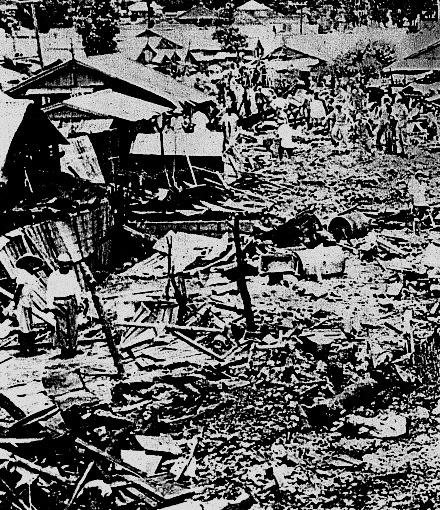 沖繩舉行活動,悼念60年前因美軍墜機事故死去的民眾