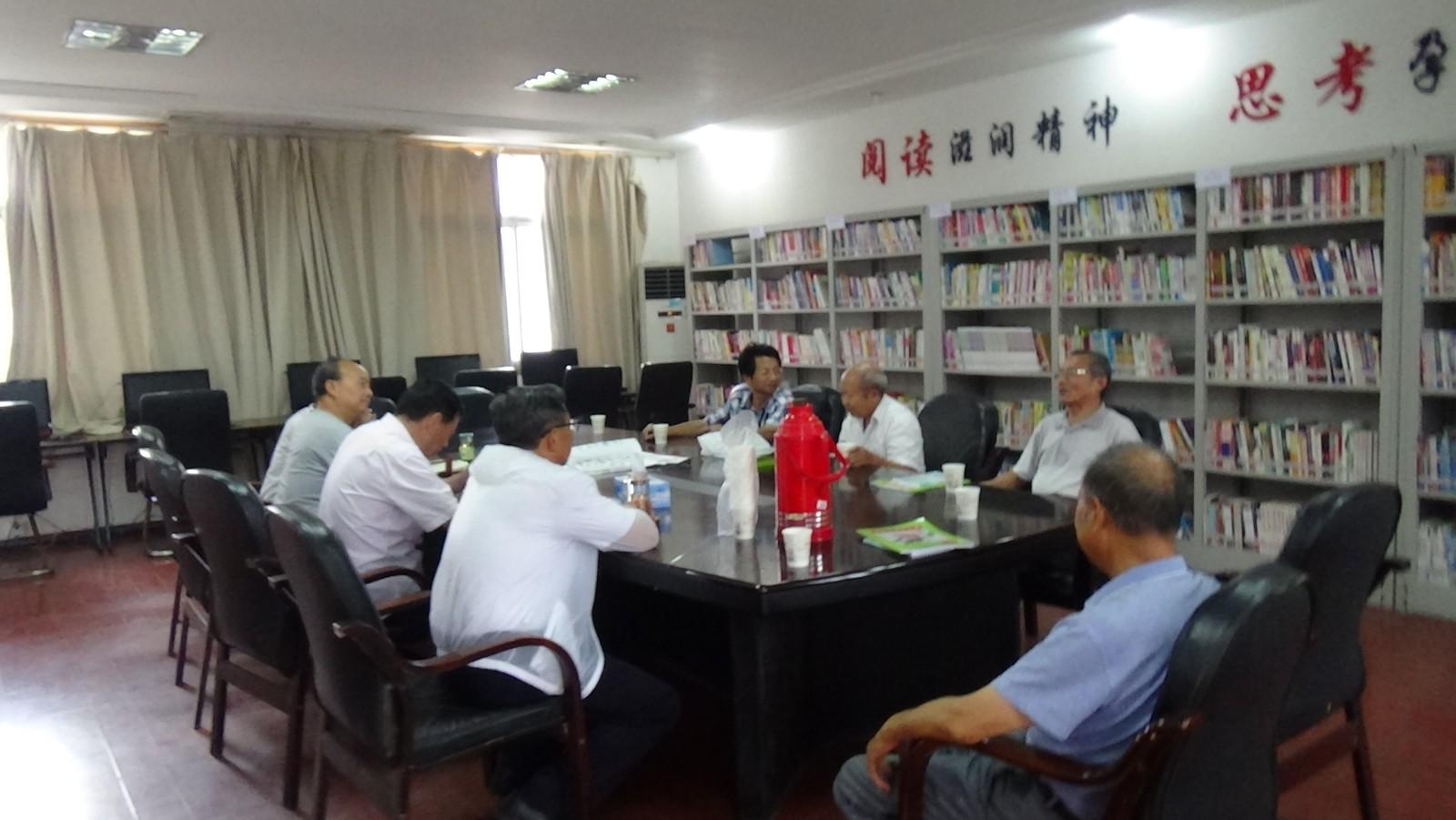 """湖口县流泗镇文化站开展以""""庆祝建国70周年""""为主题的书画创作交流活动"""
