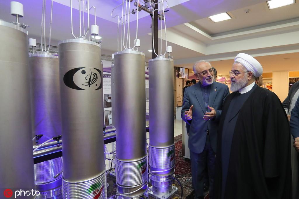 美国毁约后,伊朗宣布突破浓缩铀上限