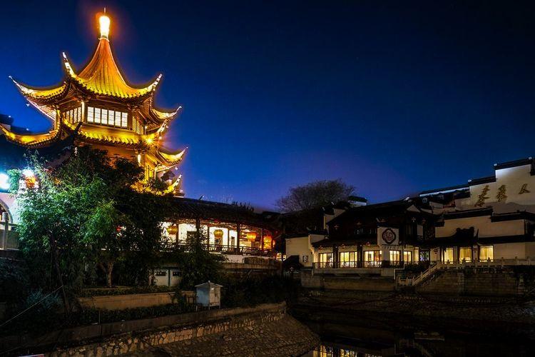 南京最低调的寺庙,虽是5A级风景区,但却因夫子庙而少有人知