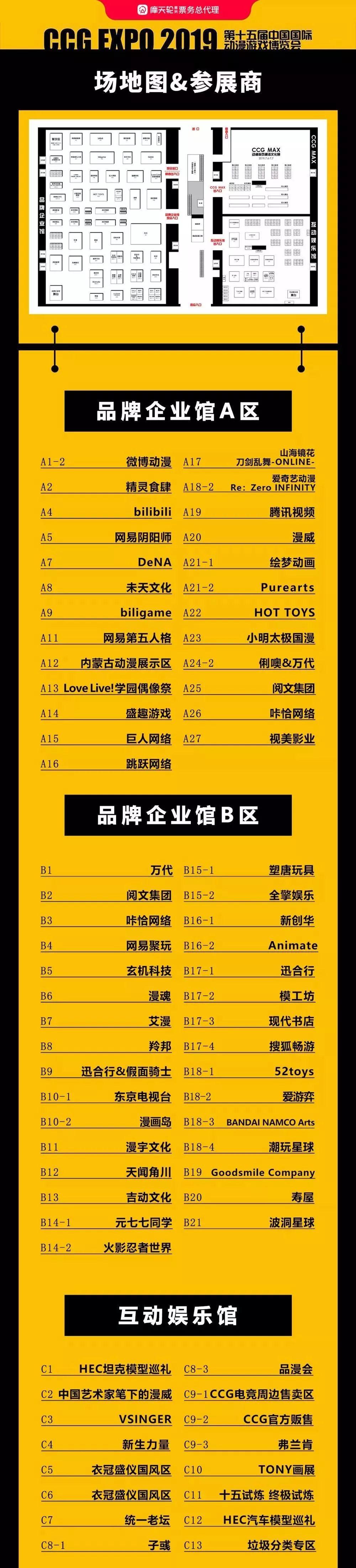 【福利】跟着小文去看展|第十五届中国国际动漫游戏博览会