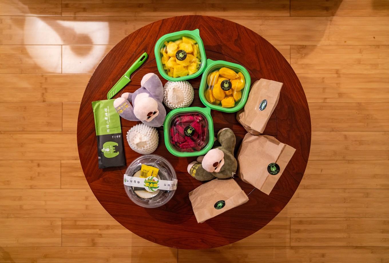 从果园直接到酒店,三亚这家水果厉害了,不出门就有最新鲜的水果