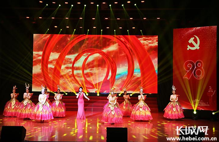 【奋斗为民 初心不改】冀州区纪念建党98周年暨庆祝新中国成立70周年活动启动