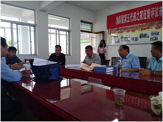 海安市城管局领导对南北红星河及支流污染点源销号验收
