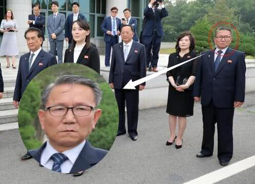 朝鲜新任统战部长疑似现身板门店