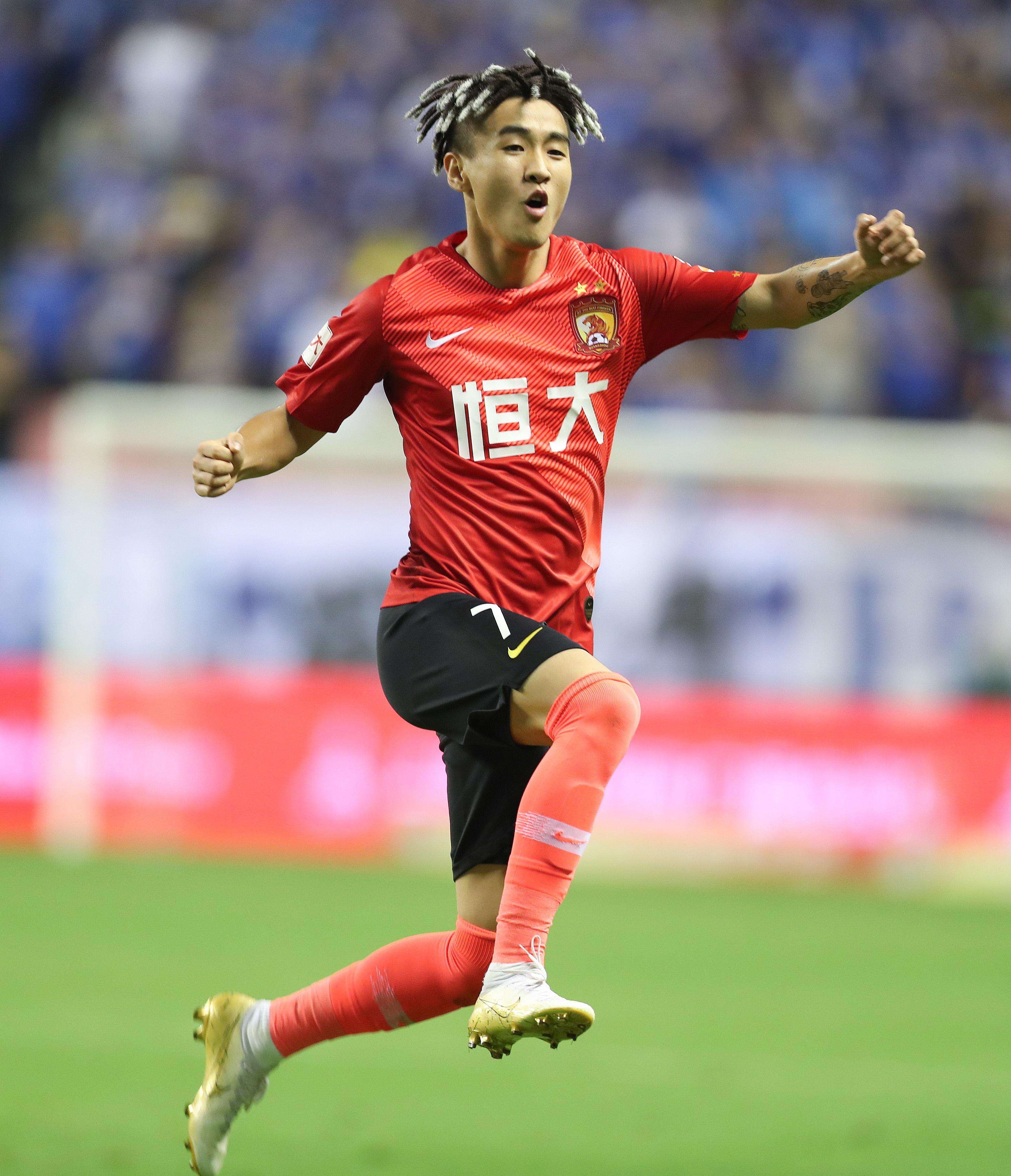 足球——中超:广州恒大胜上海申花