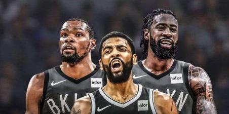 篮网三巨头诞生,kd欧文乔丹加入篮网,篮网成为冠军球队图片