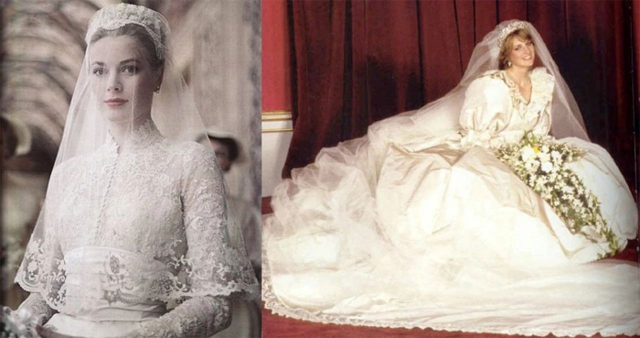 38年前,戴安娜第一次参加官方活动,遇到摩纳哥王妃竟羞涩又紧张