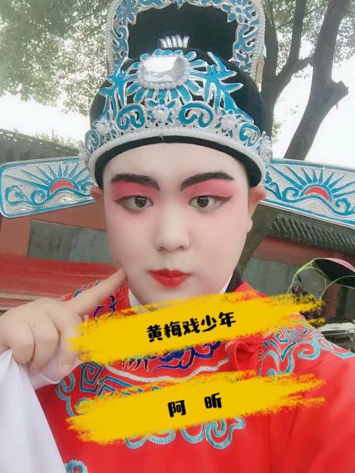 """黄梅戏少年阿昕,荣获戏曲艺术""""传统杯""""荣誉奖"""