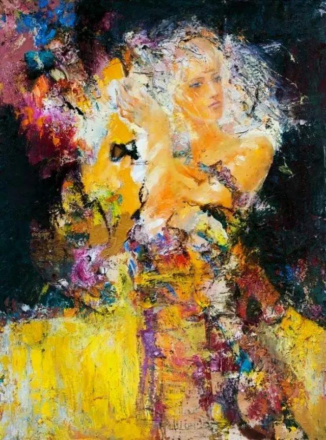 画中如此浪漫完美女人你被迷惑了吗?