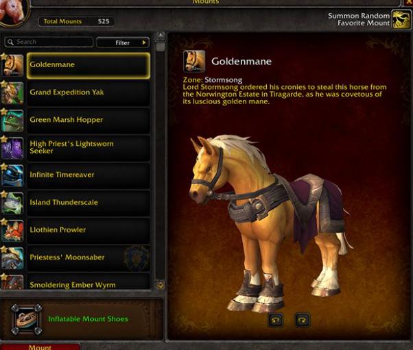 魔兽世界8.2坐骑系统大改革,你的坐骑也能装备了哦!