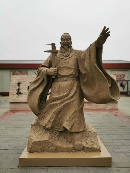 雄安古文化馆开馆迎宾