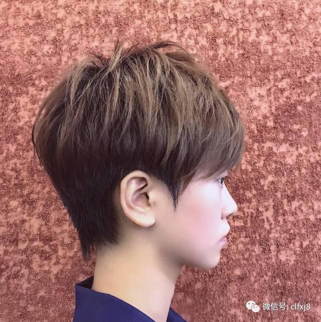 发型欣赏——2019最火减龄超短发图片