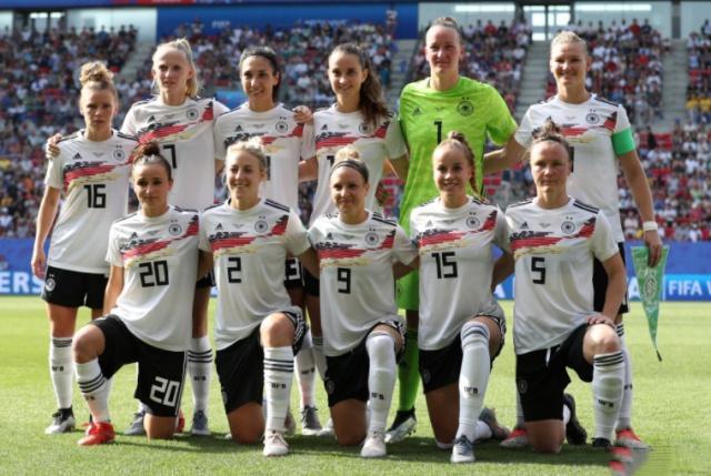 2019女足世界杯1/4决赛德国女足1:2不敌瑞典女足