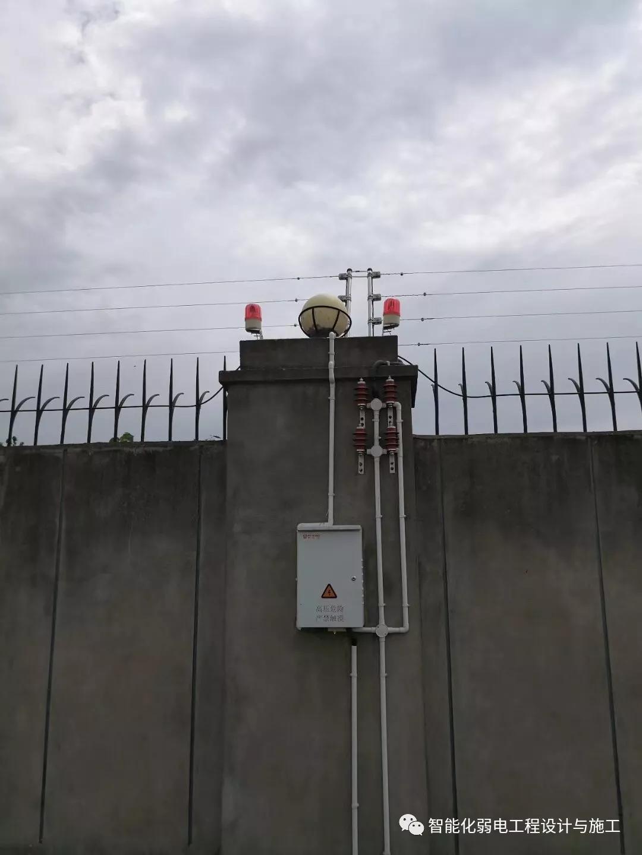 电子围栏安装示意图