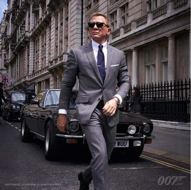007回来了!《邦德25》正式发布宣传照,丹尼尔·克雷格回归