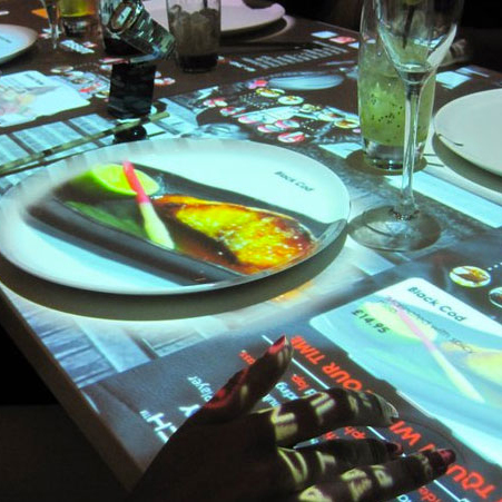 餐桌互動點餐