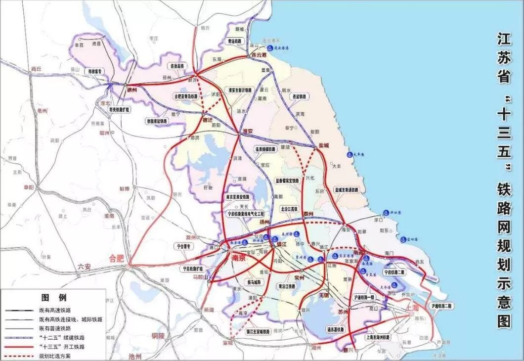 决定未来无锡与常州二城命运走向的,是这条新的跨江高铁线路