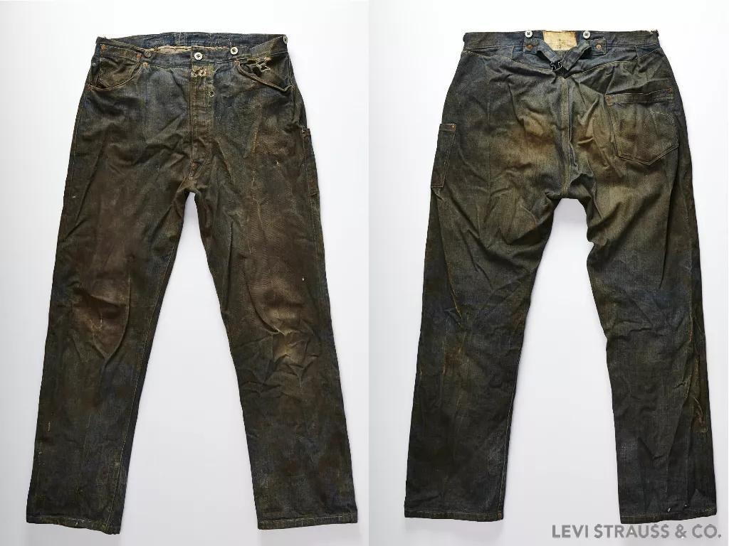 一条140年前的牛仔裤,为何能卖80万元?