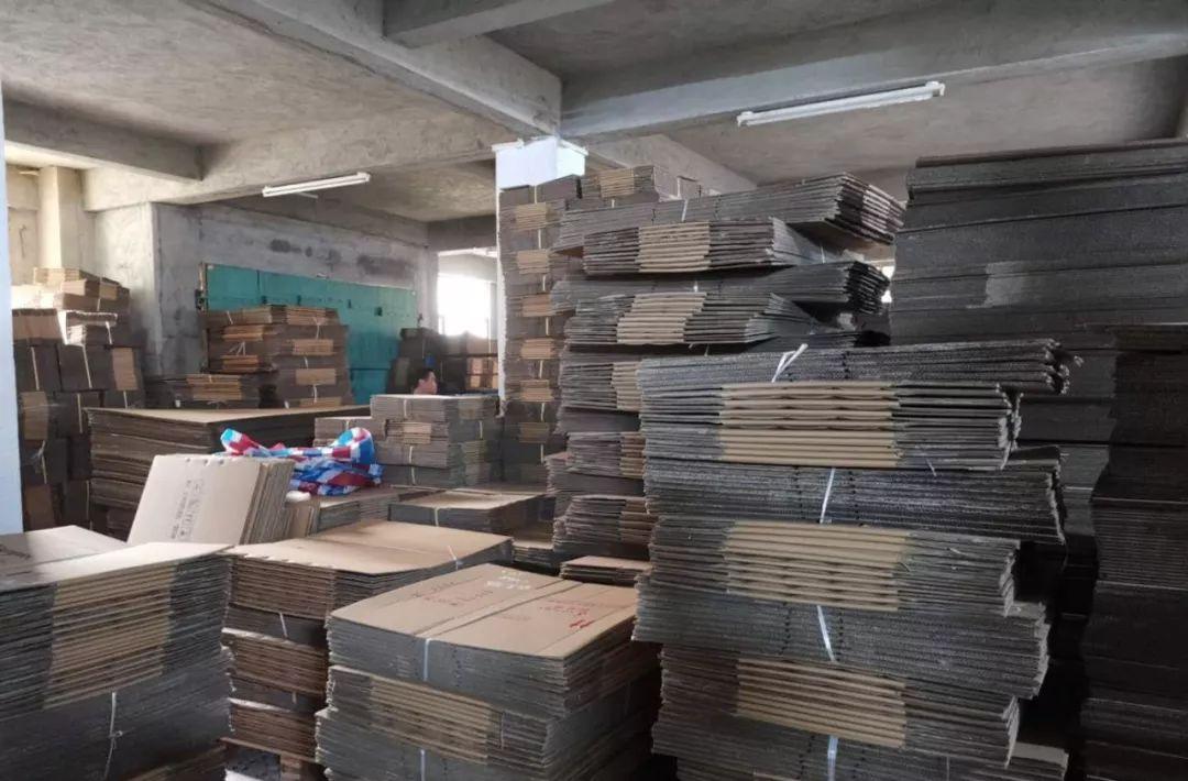 【警告】广东2家纸箱厂被一举捣毁,负责人被行政拘留!