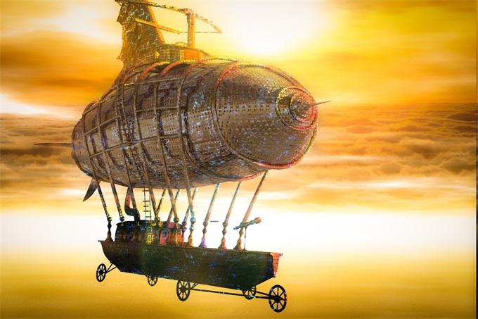 科技日历|118年前的今天,人类第一艘飞艇首航成功 开启飞艇的全盛时期