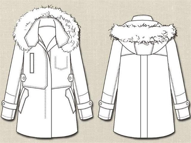 服装时装袖子设计图