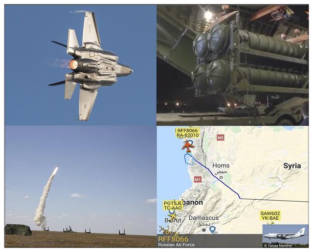 F35再次空袭叙利亚,十分钟后掉头迫降,S300导弹首次开机就锁定