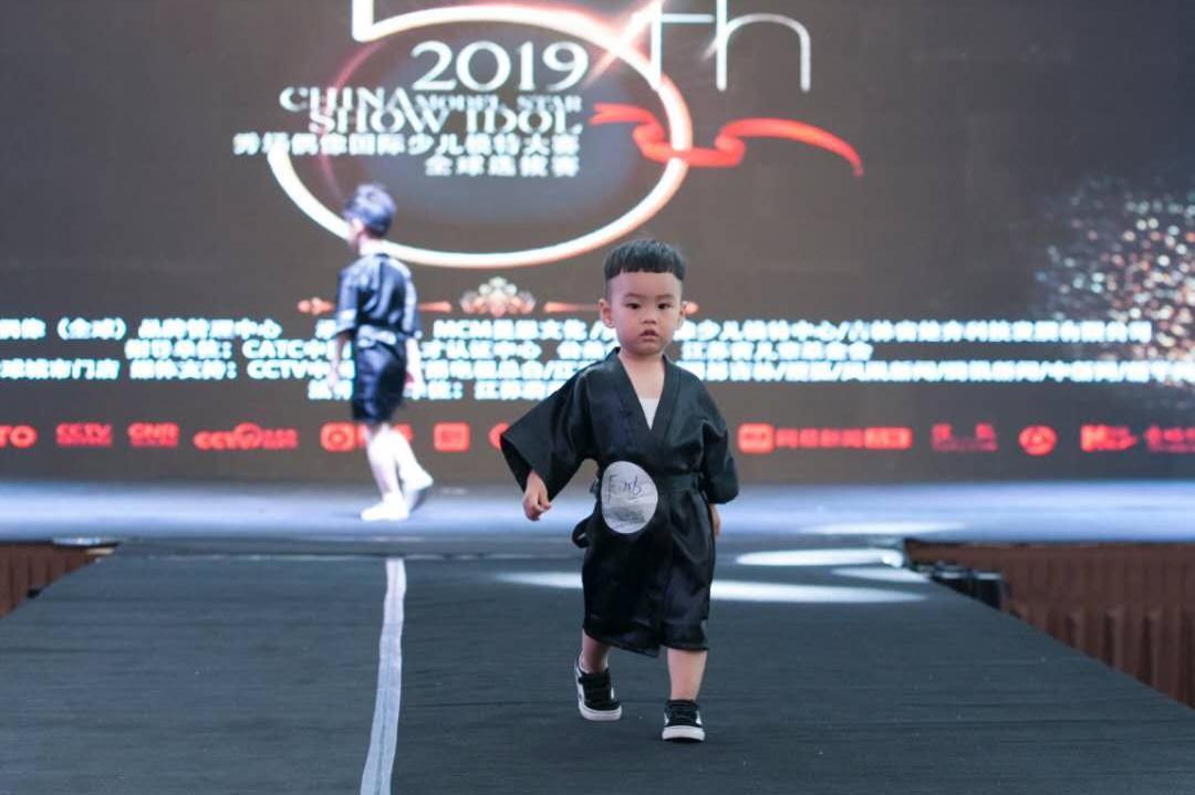 2岁小朋友获2019秀场偶像少儿模特大赛国际组铜奖