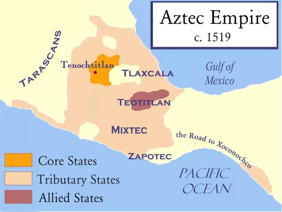 阿兹特克人:善与恶同在柔情与血腥并存 aztec civilization图片