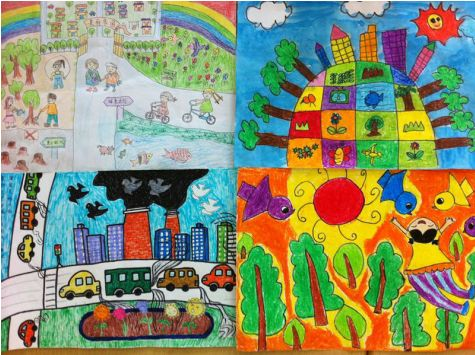 【全棉时代】亲子绘画diy,小小艺术家,为地球环保