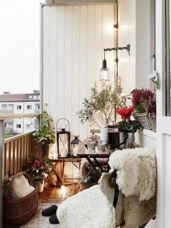風情萬種!創意陽臺小花園,擁有舒適的休閑區!?