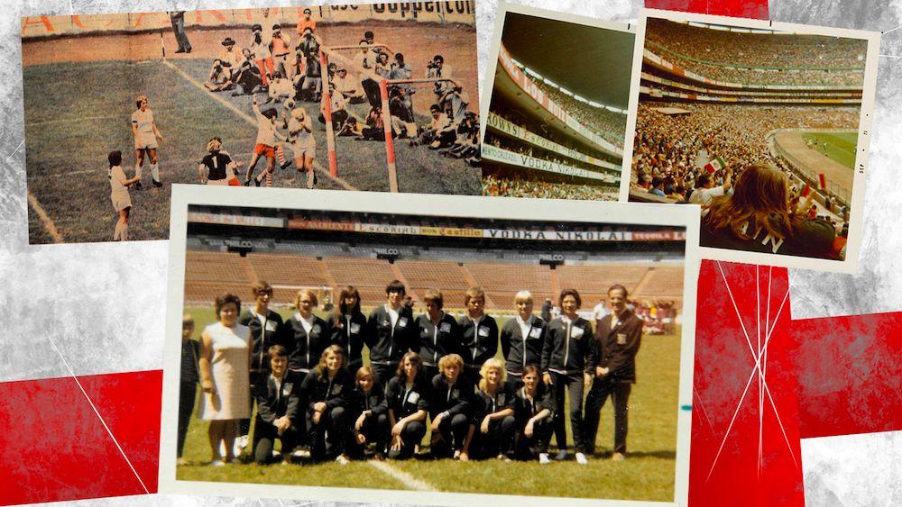天下杯连连看 48年…… 被记记的英格兰少女足球开辟者